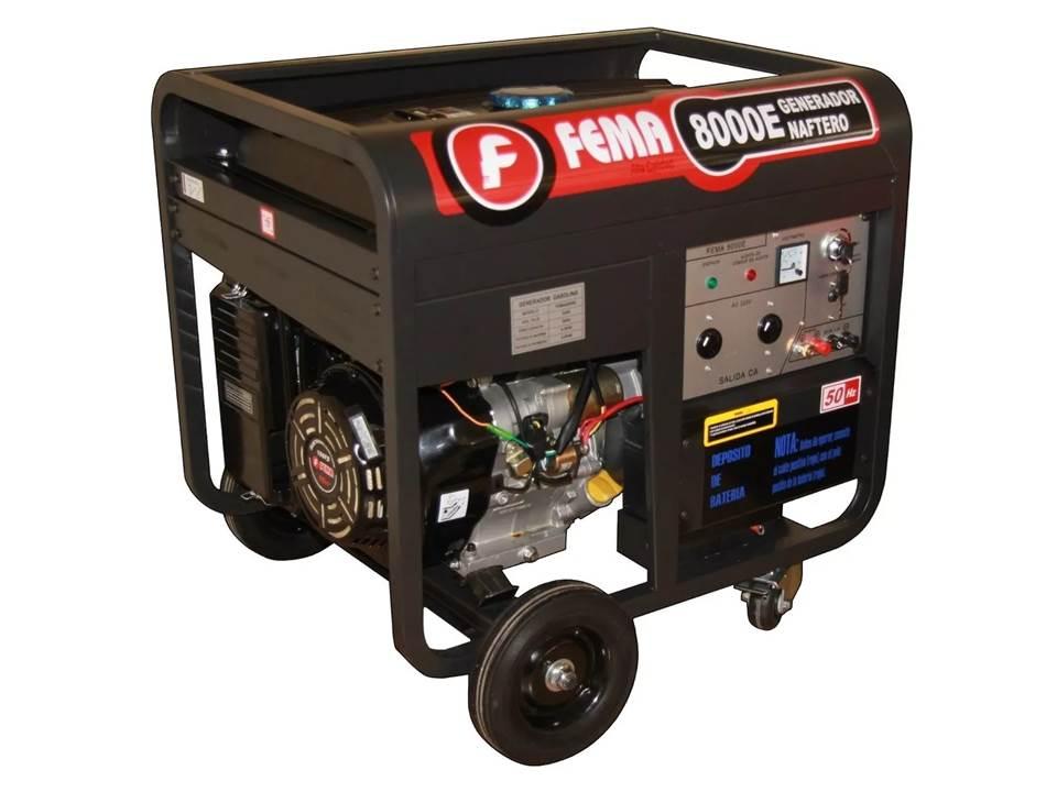 Grupo electrogeno FEMA 8 KVA